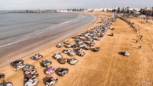 """За рулём только женщины. В марте, в песках Марокко прошло """"Ралли Газелей"""" (Rallye des Gazelles)"""
