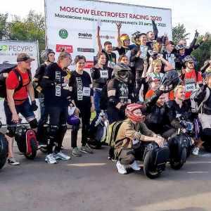 В воскресенье 23 августа состоялся первый Moscow ElectroFest Racing 2020 - электрические гонки, на четырёх видах электротранспорта