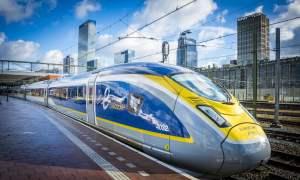 Eurostar, высокоскоростная служба пассажирских поездов, объявила о новом маршруте Лондон-Милан и обратно всего за пять с половиной часов