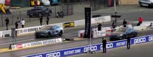 Lucid Motors против Tesla на гоночном треке. Но всех побил электрический Ford Mustang Cobra Jet 1400