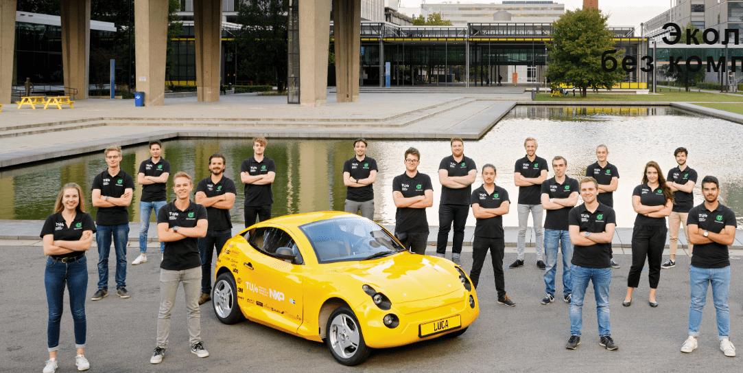 Электромобиль Luca 1