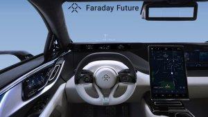 Революционная технология проекционного дисплея Faraday Future FF 91