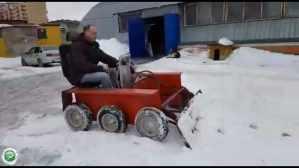 Российским электрическим мини-трактором заинтересовались в Африке