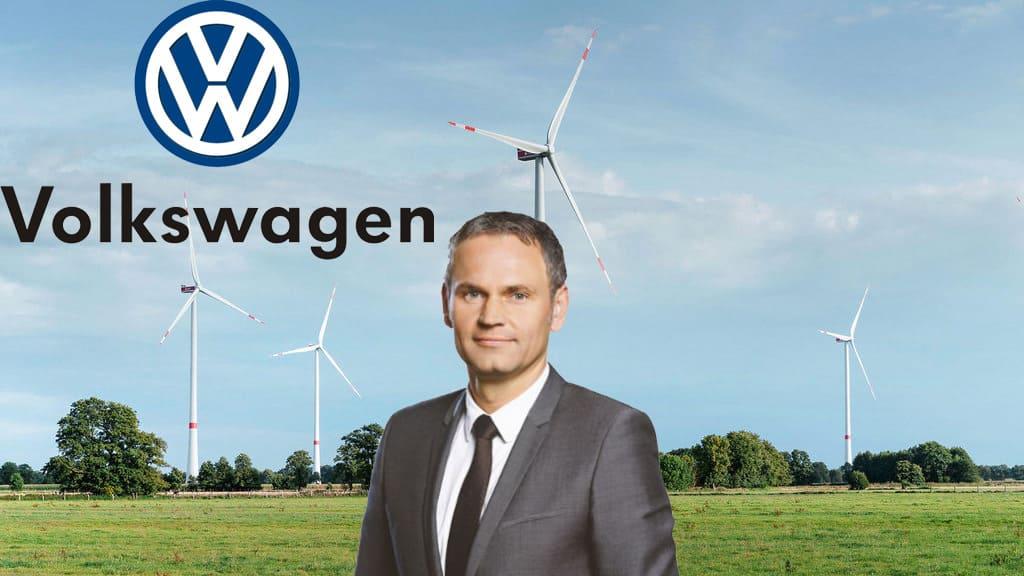 сокращение углародного следа Volkswagen Group