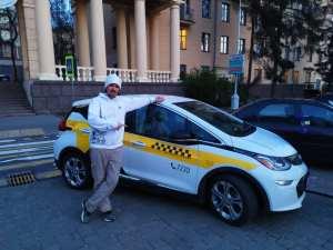 Chevrolet Bolt на службе в такси города Минск