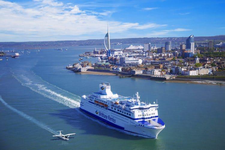 Brittany Ferries и Seaglider Regent Craft