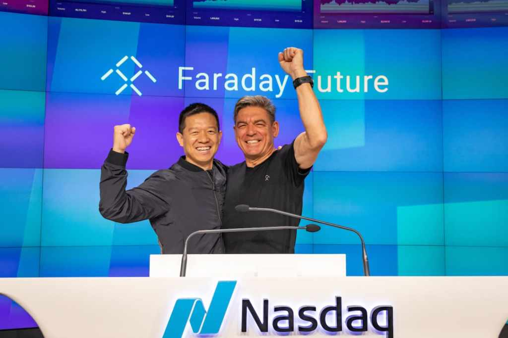 Цзя Юэтин, основатель и один из главных акционеров FF, и д-р Карстен Брайтфельд, генеральный директор Faraday Future