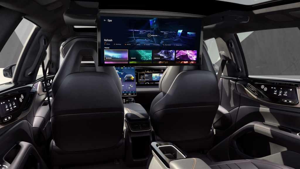 по комфорту и качеству отделки FF91 будет соревноваться с Rolls Royce, Bentley, и даже Maybach, не говоря уже и про Tesla