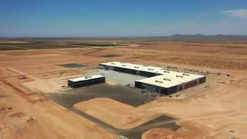 завод Nikola Corp в Кулидже (Аризона)