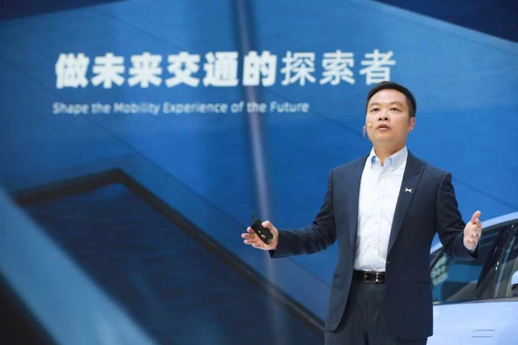 Хэ Сяопэн, председатель и главный исполнительный директор XPeng