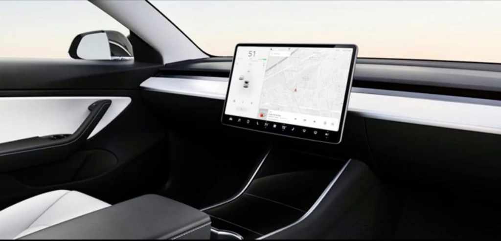 полностью автономный электрокар Tesla