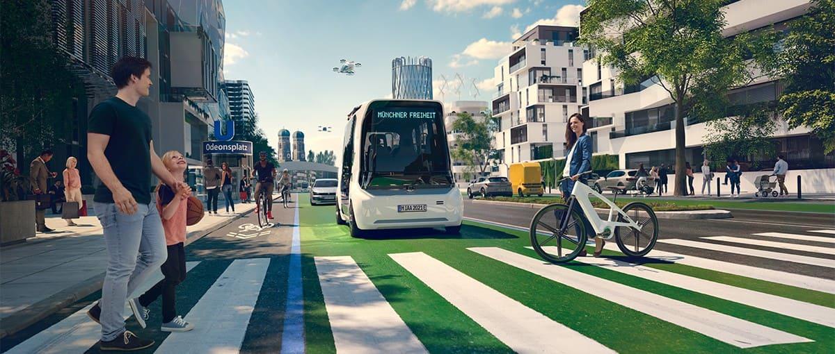 schaeffler iaa mobility 2021 on track to sustainable mobility