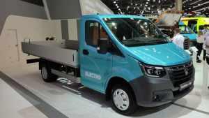 В Москве представили первый российский коммерческий электромобиль GAZelle e-NN