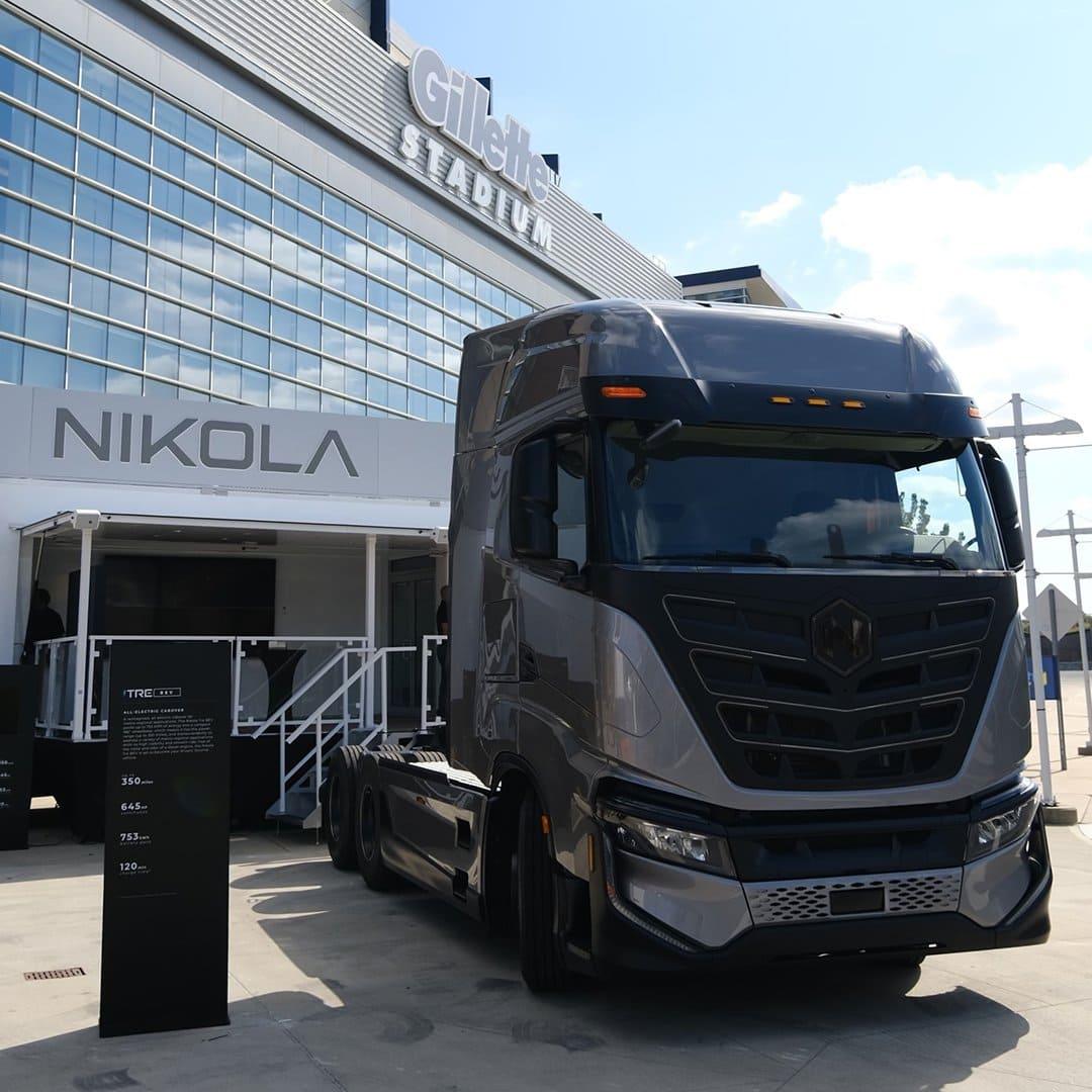 Nikola Tre semi truck 2