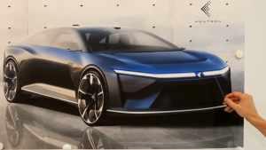 Foxconn презентовал концепты своих первых электромобилей Foxtron - Model C, Model E, и электробуса Model T