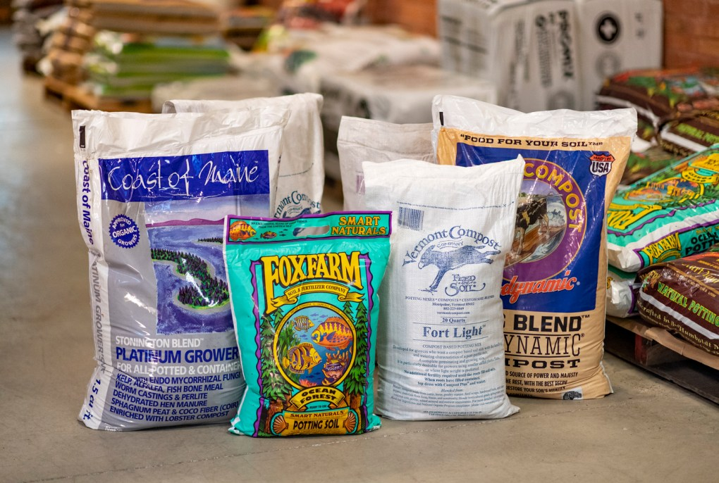 Available Soil Products at Retail