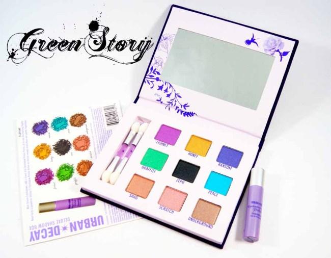 Urban Decay Deluxe Eyeshadow Box