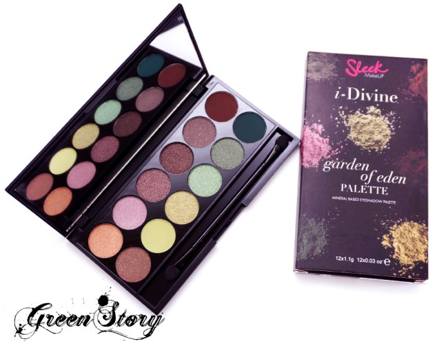 Sleek Makeup Garden Of Eden Eyeshadow Palette