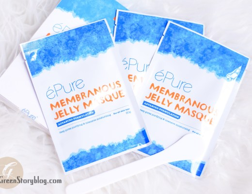 ePure Membranous Jelly Masque