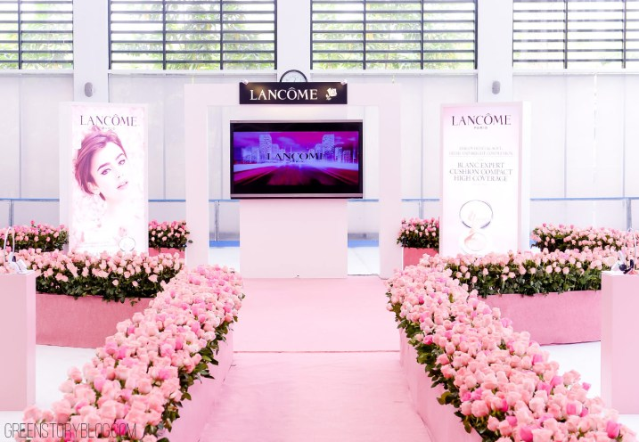 Lancome Blanc Expert Cushion Compact Launch Event.