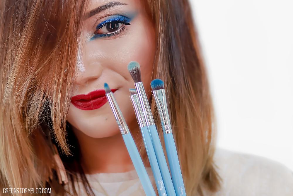 Eye Makeup Using Sigma BUNNY Eye Brush Set