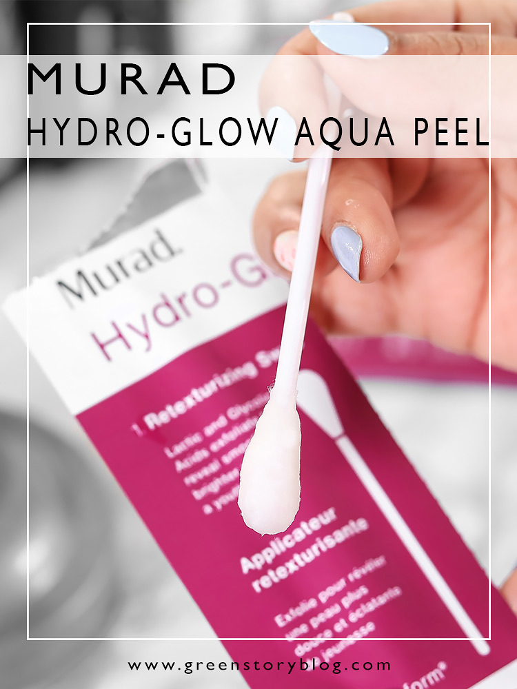Murad Hydro Glow Aqua Peel | Age Reform 2 Step Skin Treatment