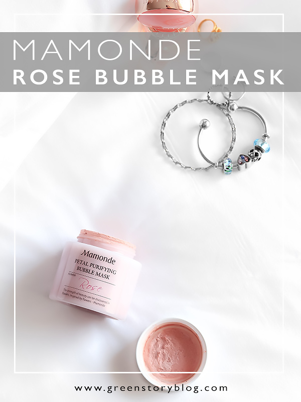 Mamonde Petal Purifying Bubble Mask - Mamonde Rose Bubble Mask