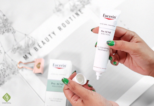 Eucerin ProACNE Solution | Anti- Acne Moisturizer for acne-prone skin - does it work?