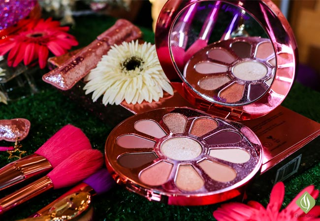tarte flower power eyeshadow palette