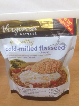 Ground flax seed