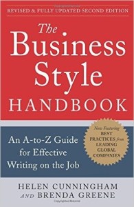 The Business Style Handbook