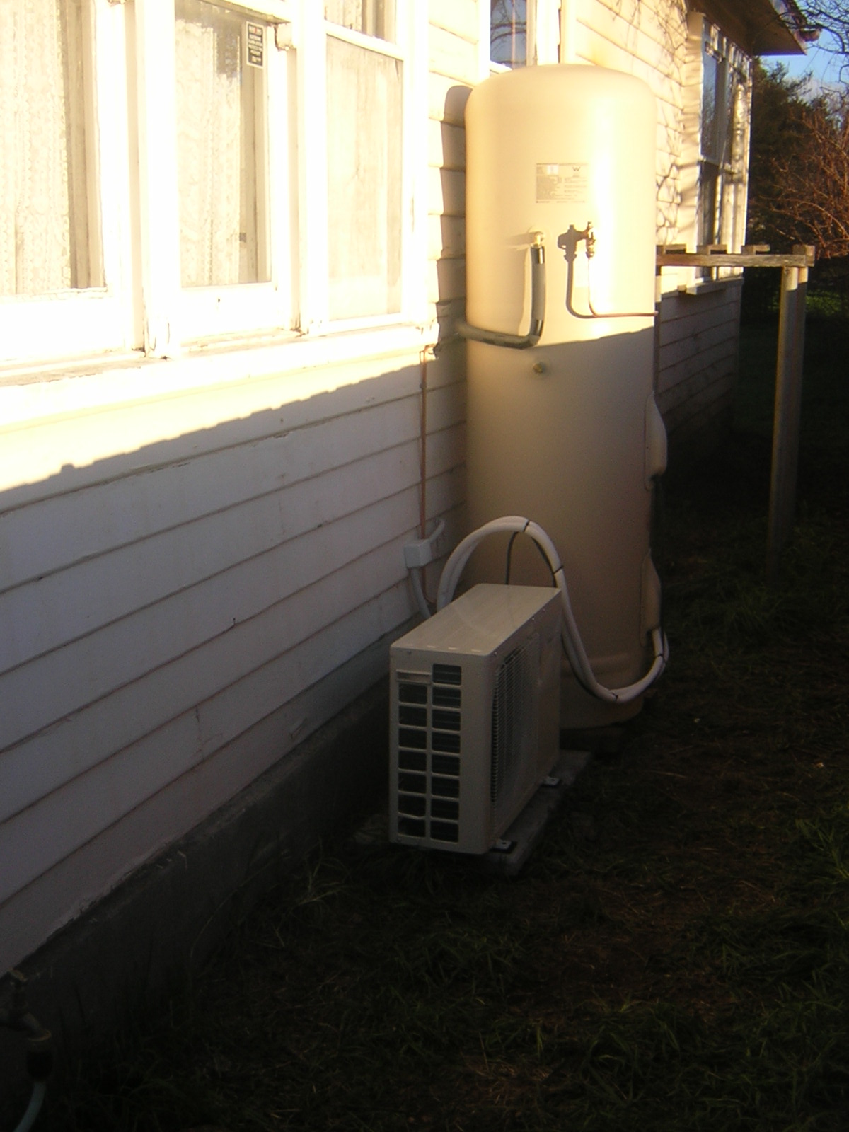 Our new Siddons heat pump
