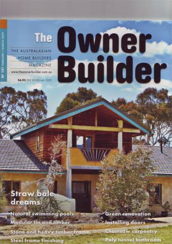 The Owner Builder Magazine Feb/March 09