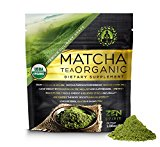 Organic Matcha Green Tea Powder, Japanese Premium Culinary Grade, Unsweetened & Sugar Free - USDA & Vegan Certified - 30g (1.06 oz) - Perfect for Baking, Smoothies, Latte, Iced tea & Weight Loss.