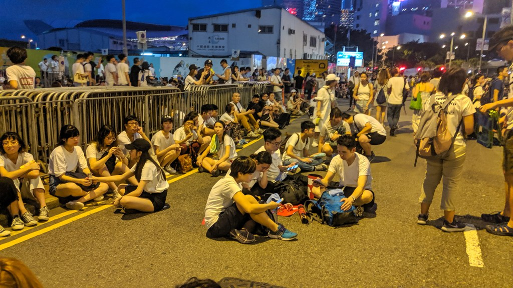 It feels like Occupy Central or the Umbrella Movement 2.0