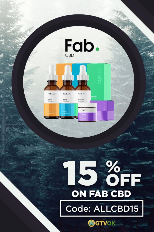 Fab CBD coupon 2019