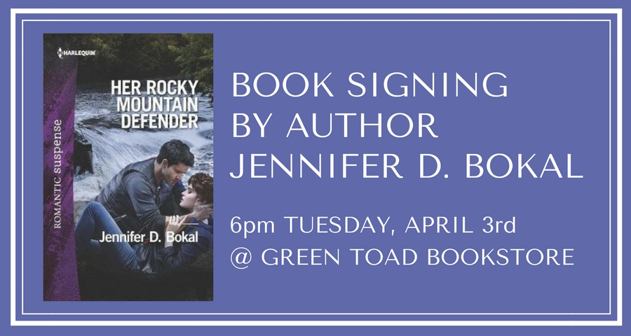 Book Signing with Jen Bokal