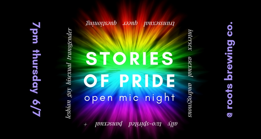 Stories of Pride Open Mic