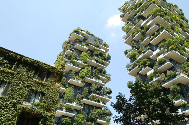 Fachada do Bosco Verticale. (Fonte: Christos Barbalis).