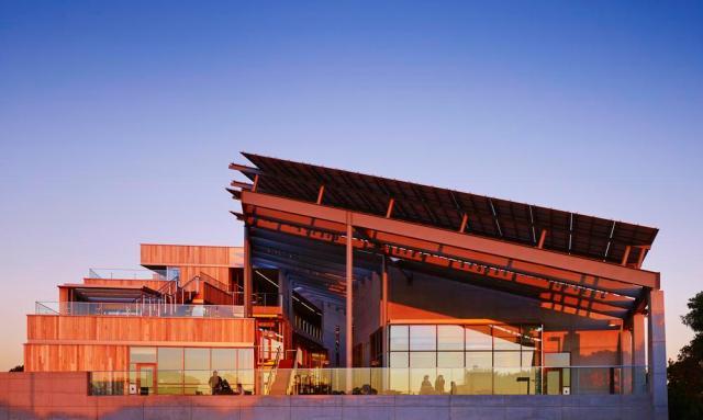 O J. Craig Venter Institute, em San Diego, Califórnia. (Fonte: AIA).