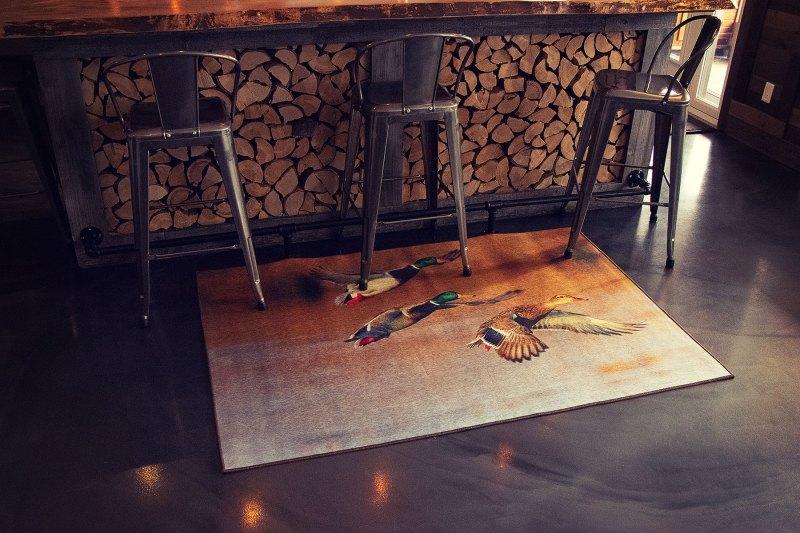 G8011-18-Canards-Ducks tapis carpet