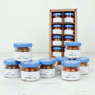 http://www.greentulip.co.uk/gift-food/herbs-and-spices/curry-blends-spice-gift-box.html