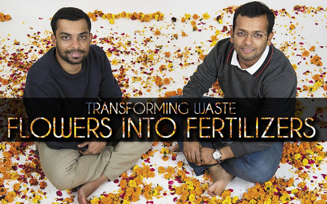 Kanpur Innovators Fight Water Pollution: Flower Waste Management