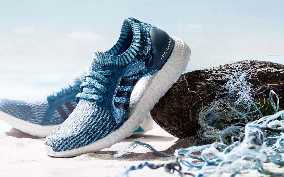 Adidas makes shoes of recycled ocean plastic: Save Environment