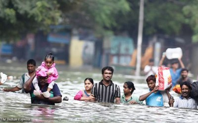 Floods in India and Farmer Suicides due to Climate Change, Global Warming