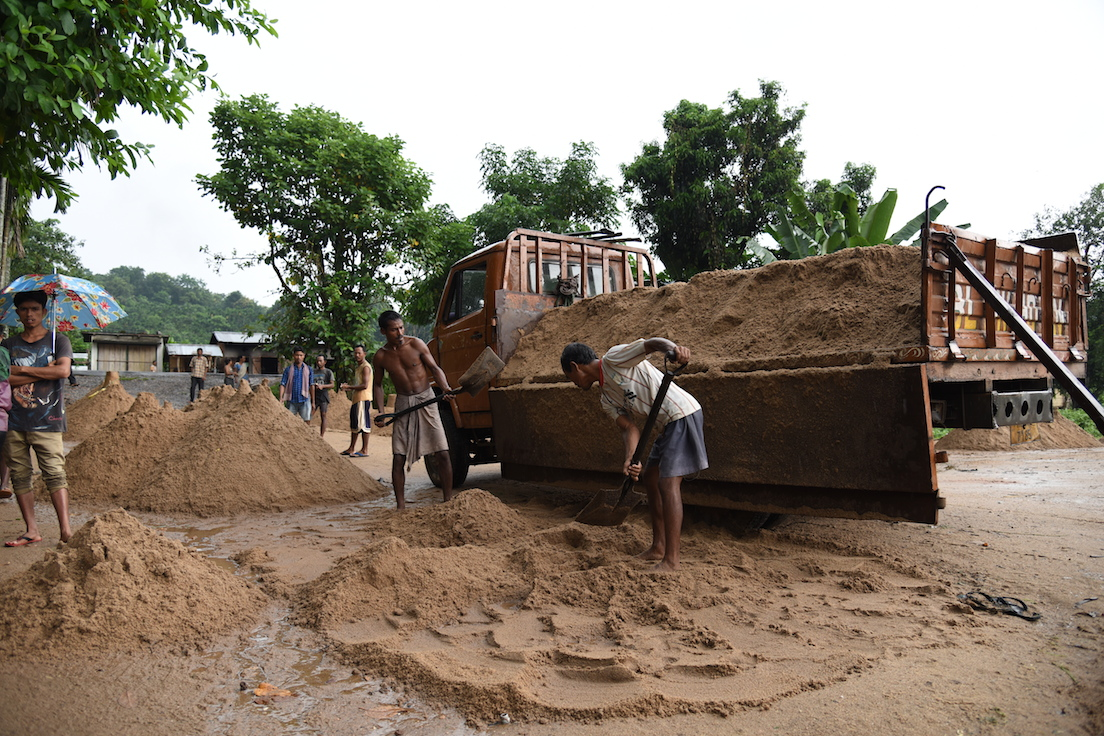 Illegal sand mining in Meghalaya, India is destroying rivers and ecology