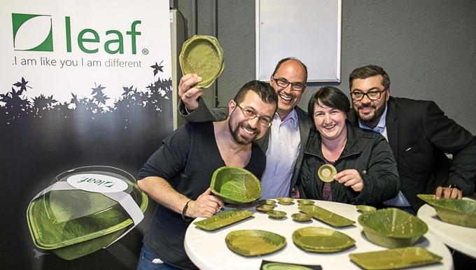 Leaf plates by Leaf Republic for sustainable environment