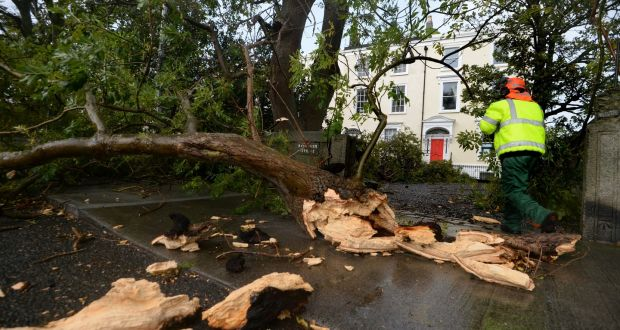 Climate change behind Hurricane Ophelia in Ireland, UK