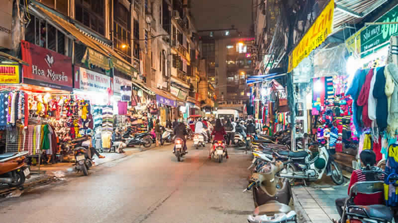 Exploring Hanoi: Vietnam Is A Country of Small Shopkeepers, Restaurants