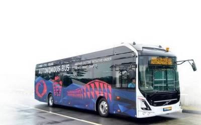 Singapore Transport To Go Electric and Autonomous, Courtesy Volvo